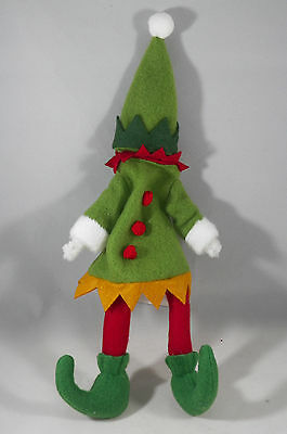 Green Elf Outfit Christmas Tree Ornament new