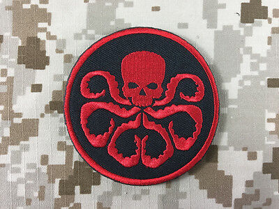The Avengers Captain America Red Skull Patch