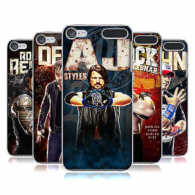 OFFICIAL WWE SUPERSTARS HARD BACK CASE FOR APPLE iPOD TOUCH MP3