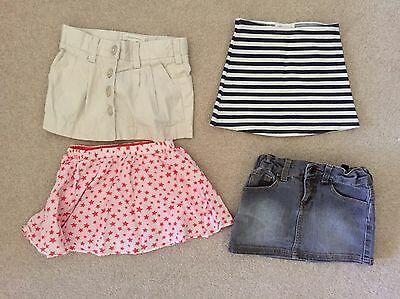 4x Girls Skirts Size 2 To 3, Seed, Witchery And Others