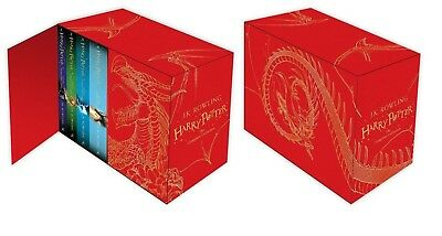 Harry Potter Hardback Boxed Set: The Complete Book Collection J.K. Rowling
