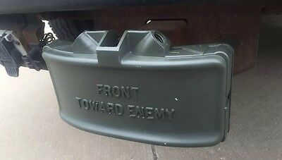 Claymore Mine Trailer Hitch Cover
