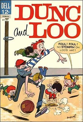 Dunc and Loo (1961) #8 VG- 3.5 LOW GRADE