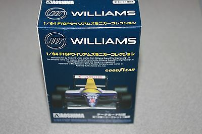 1/64 AOSHIMA F1 F1GP Williams GOODYEAR Miniature Car Collection FW18 No.6