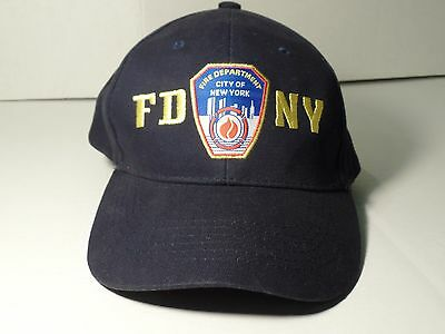 Official FDNY - Fire Department New York - New York's Bravest - Ball Cap