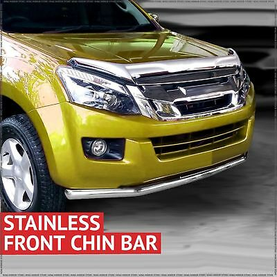 Chin Bar Front Spoiler Nudge Bar for Isuzu D-Max 2012-2015