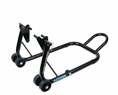 OXFORD Big Black Motorcycle Paddock Stand - FRONT