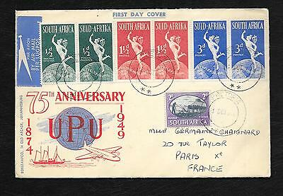 Firt Day Cover De 1949