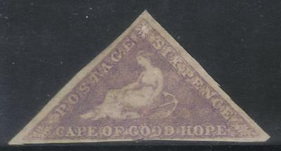 Cape Of Good Hope 1855-1863 Sg7 3 Margin M/m Cat £1200