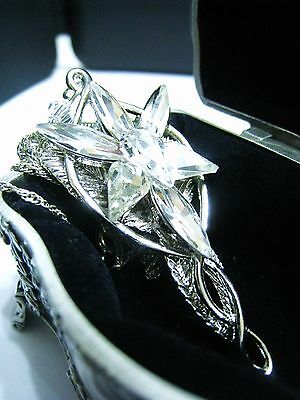 Gift Arwen Evenstar Necklace The Hobbit Lord of the Rings ring Lotr