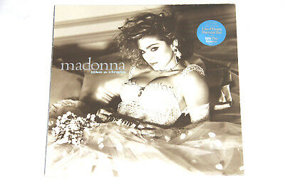 "Madonna  Like A Virgin - 925 157-1 WX 20 - 1985 UK&EU - OIS Vinyl 12"" LP"