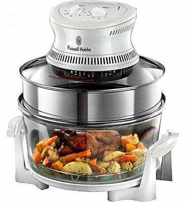 Russell Hobbs 18537 1400W Halogen Oven With 16L Capacity & Countdown Timer NEW
