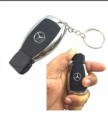 MERCEDES CAR KEYCHAIN DESIGN LIGHTER With Torch CIGARETTE REFILLABLE JET FLAME