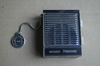 Old Small Sharp 7 Transistor Radio Made In Japan