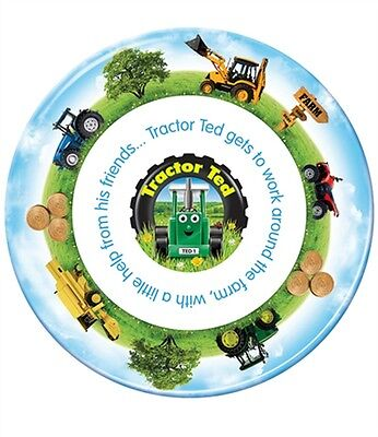 Tractor Ted Plate *OFFICIAL* Direct from Tractor Ted Warehouse