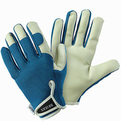 Briers Lady Gardener Petrol Blue Gloves B5246 Medium