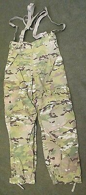 New Genuine Us Army Multicam Cold Weather Soft Shell Trousers. Small-Short. Crye