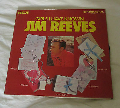 Girls I have known - Jim Reeves - LP