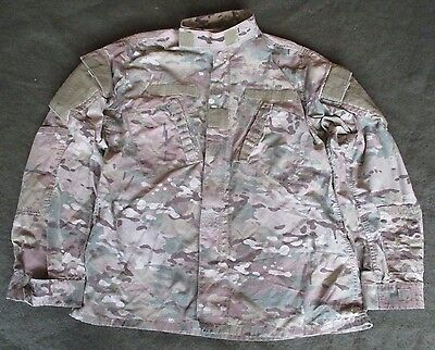 Genuine Us Army Crye Multicam Flame Resistant Ripstop Combat Jacket. Large-Long.