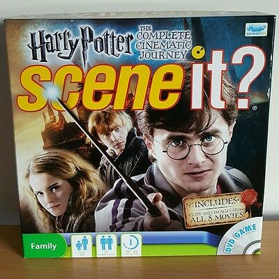 Harry Potter: Scene It! The Complete Cinematic Journey - Brand New Unsealed!!!
