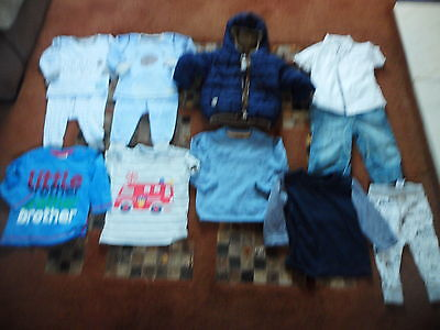 Baby boys clothes aged 9-12 months Coat Jeans Pyjamas etc All From Next