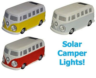 Kingfisher VW Camper Van Solar Garden Light LED Border Lights Ornament