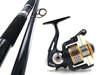 SAMBO SURF KING 12' 15kg Salmon Beach Rock Spinning Fishing Rod and Reel Combo