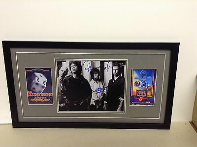 Rolling Stones Genuine Hand Signed/Autographed Photograph & COA