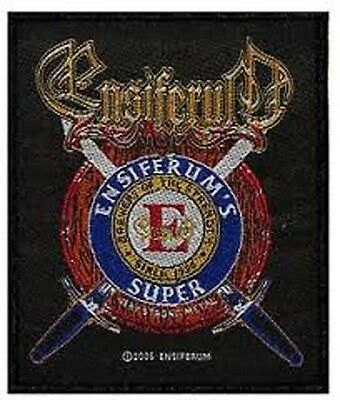 ENSIFERUM - SUPER HEAVY patch NEW WOVEN official Folk metal