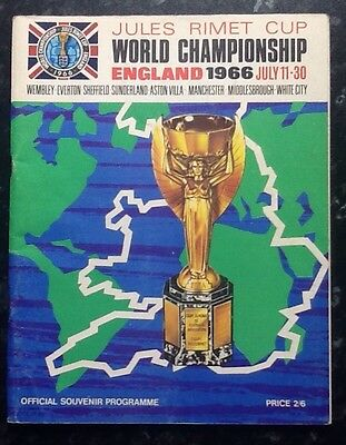 World Cup 1966 - England 1966 - Championship Official Programme - FREE POSTAGE