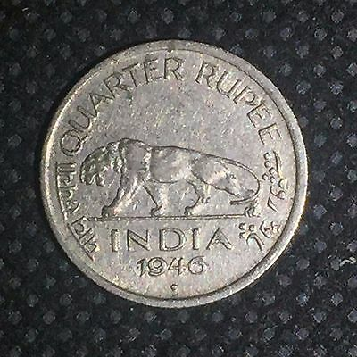 India-British 1946 (b)  1/4 Rupee (George VI) / C1600511