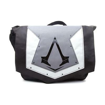 ASSASSIN'S CREED Syndicate Grey Cover Brotherhood Crest Messenger Bag Grey/Black