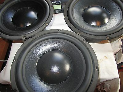 """Wharfedale 250mm 10"""" bass driver woofer speaker also used in subs (3 available)"""