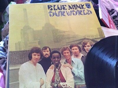 BLUE MINK Our World - Philips UK 1970 LP