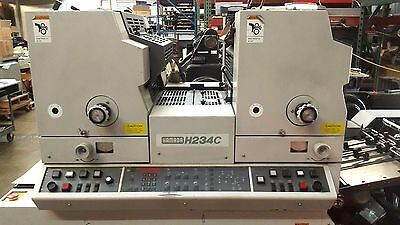 HAMADA 234C 2 Color printing Press  Stock#1004-16