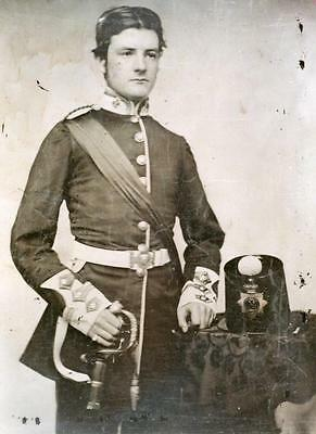 24th Foot Regiment Officer 1860 Photograph British Army Military