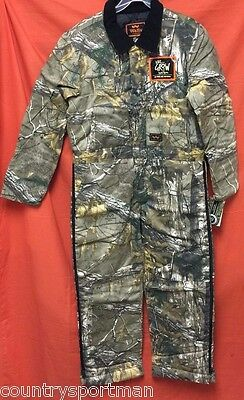 WALLS Legend Kids Grow Insulated Coveralls (M) #15125AX9 Realtree Xtra (AX9)