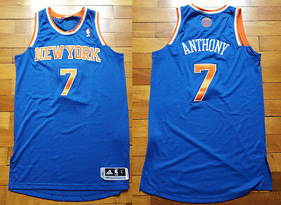Maillot de basket New York Knicks Carmelo Anthony Adidas taille L