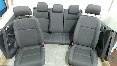 2005 VW Golf MK5 5 Door Set Of Cloth Front And Rear Seats With Door Cards