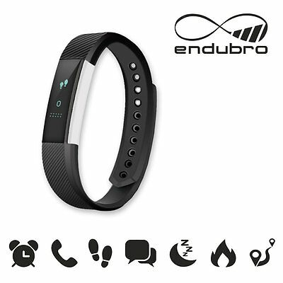 endubro FITNESS TRACKER W33/ID115 BLUETOOTH TOUCHSCREEN ANDROID E IOS - NERO