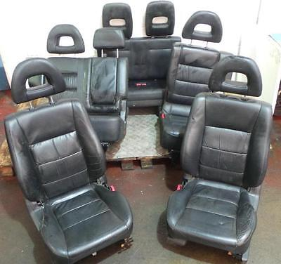 2003 Mitsubishi Shogun LWB Set Of Leather Front And Rear Seats With 3rd Row Seat
