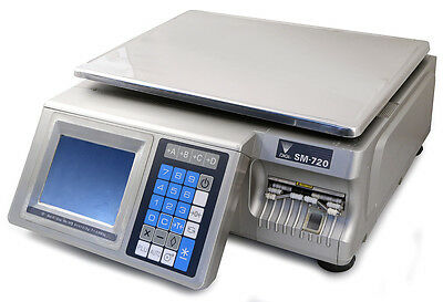 SM-720B DIGI Programmable Scale with Touchscreen and Printer
