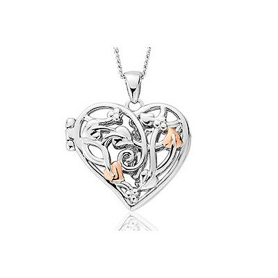 Clogau Silver & Rose Gold Fairy Locket (small) **SAVE OVER 60% OFF RRP £149*