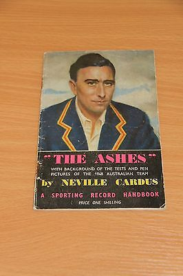 The Ashes 1948, A Sporting Record Handbook by Neville Cardus