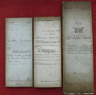 1867 Documents, Hull, Kent, Plymouth ( William Banks ) East Yorkshire