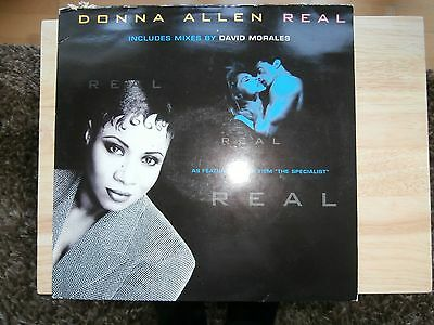 """Donna Allen, REAL, Epic, 661099 6, Sony Music,12"""" Vinyl Record."""