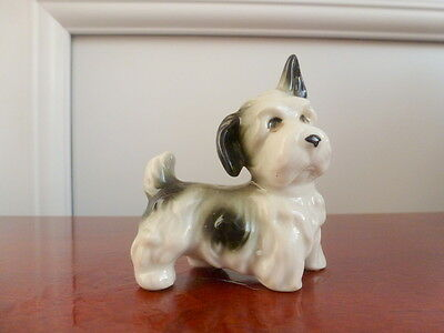 Small Terrier Dog Figure