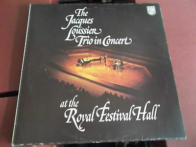 The Jacques Loussier Trio In Concert At The Royal Festival Hall: Vinyl Lp