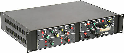"""Rackmount Chassis Kit for vintage 7"""" Ward-Beck modules (4 modules /rack)"""