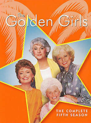 THE GOLDEN GIRLS: COMPLETE FIFTH SEASON 2016 DVD 3-Disc Set >NEW< 5 / 5th / five